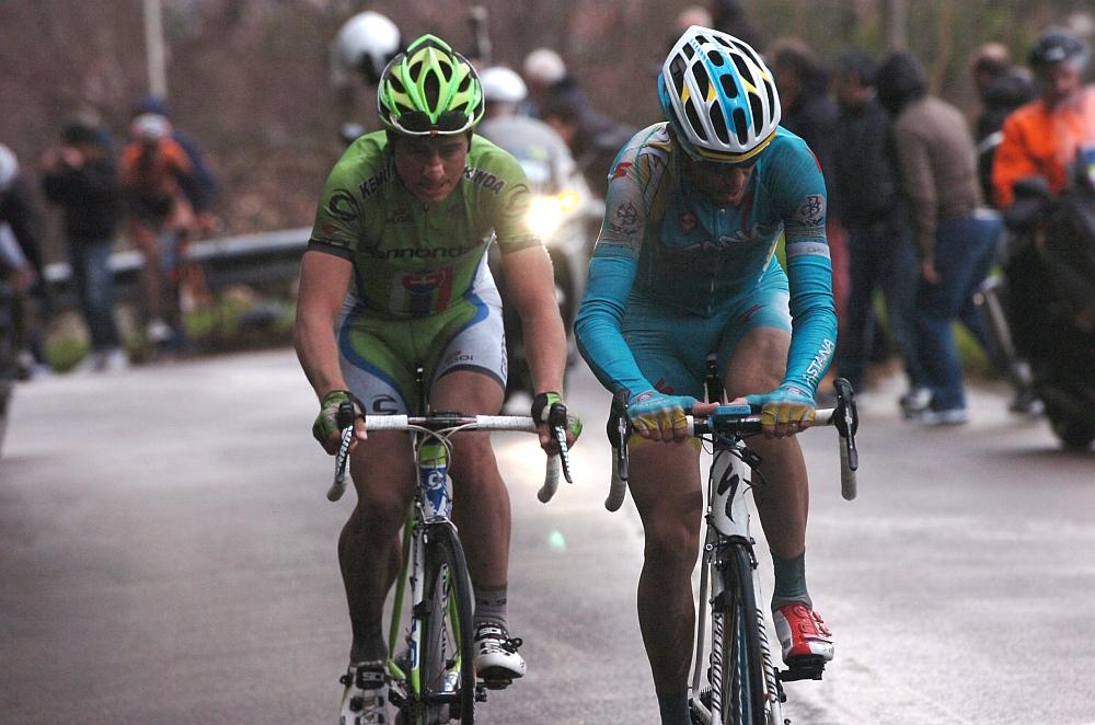Nibali és Sagan akcióban (Fotó: Stefano Sirotti - sirotti.it)