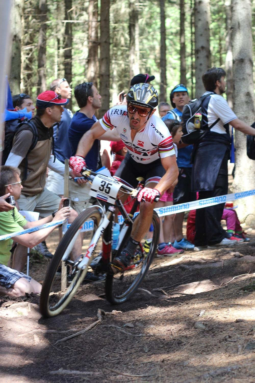 Miguel Martinez verseny közben