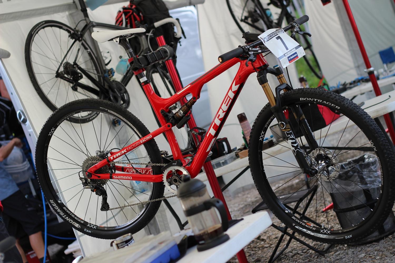 Daniel McConnell kerékpárja
