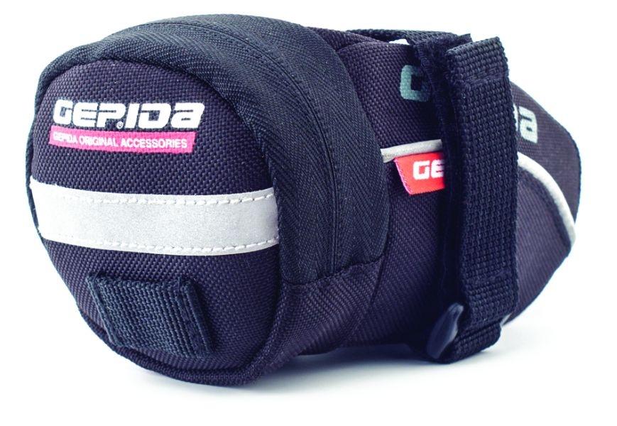 A Gepida nyeregtáskája praktikus, igényesen kivitelezett darab, az egyik leghasznosabb kerékpárkiegészítő, amit beszerezhetünk...