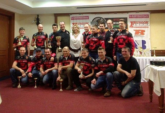 A legeredményesebb a Tatanka Racing Team