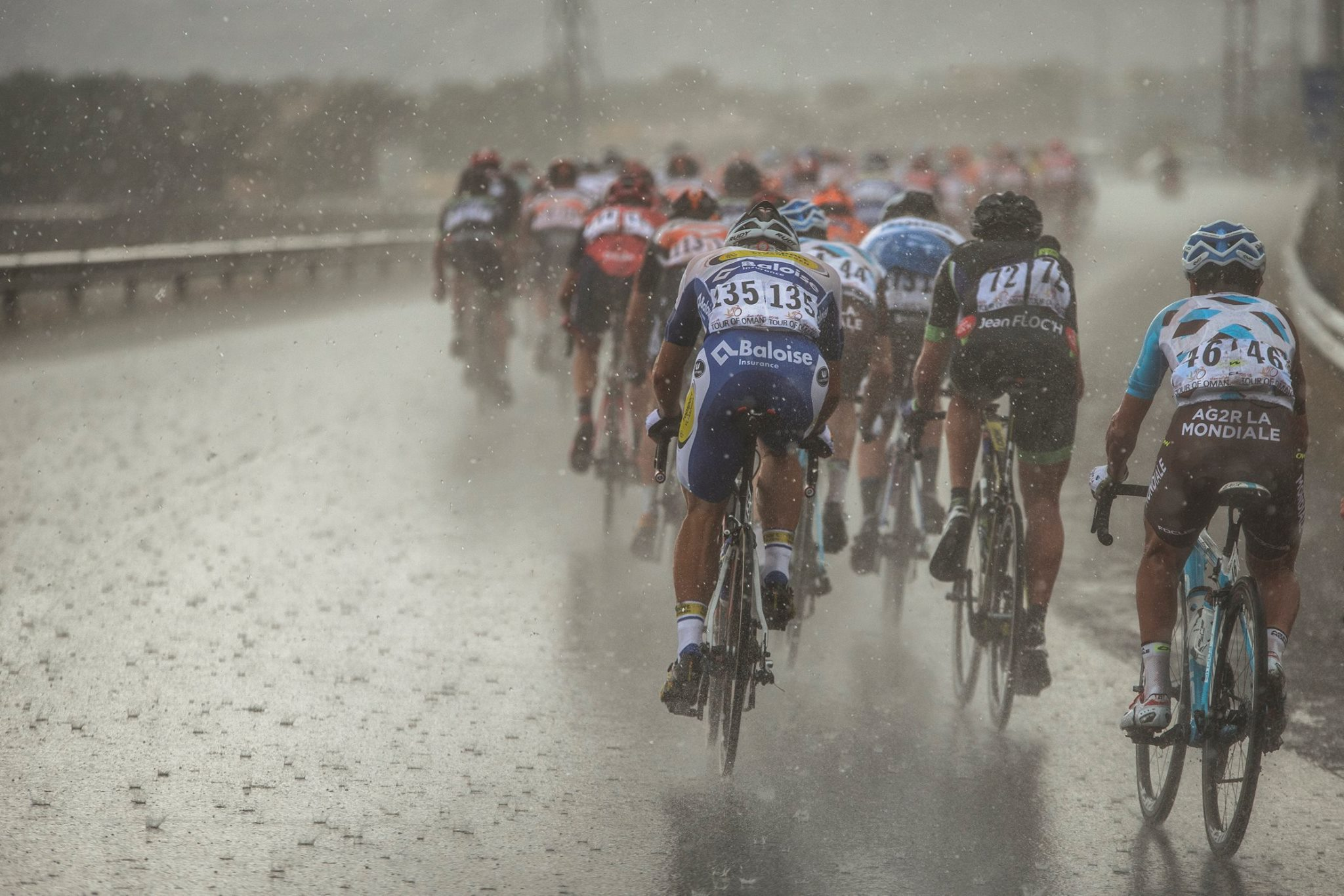 A sivatagban is esik néha az eső. Ománi Körverseny 3. szakasz