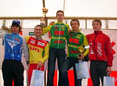 A magyar versenyző a dobogó legfelső fokán