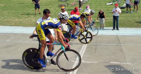 Sprint csapatversenyben rajtol a BVSC bajnokcsapata