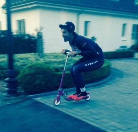 Cancellara új edzésformája