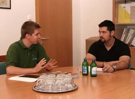 Elsőrendű szempont az erdő védelme - Jorus kérdéseire Lomniczi Gergely (balról) szóvivő válaszolt