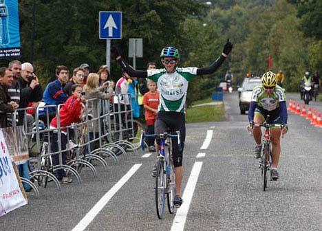 A sprintben ezúttal Vigh Zoltán volt a gyorsabb