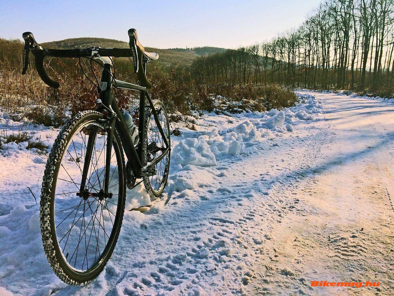 Telki és Nagykovácsi között tökéletes a dózerút végig, akár még hóban is