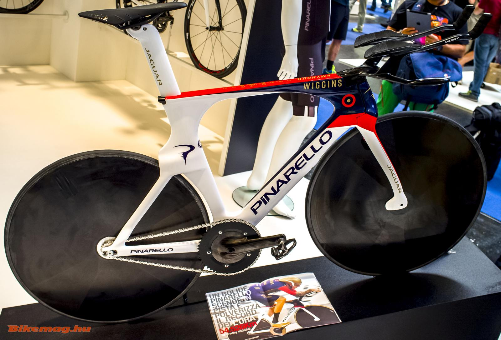Bradley Wiggins Pinarello Bolide HR kerékpárja