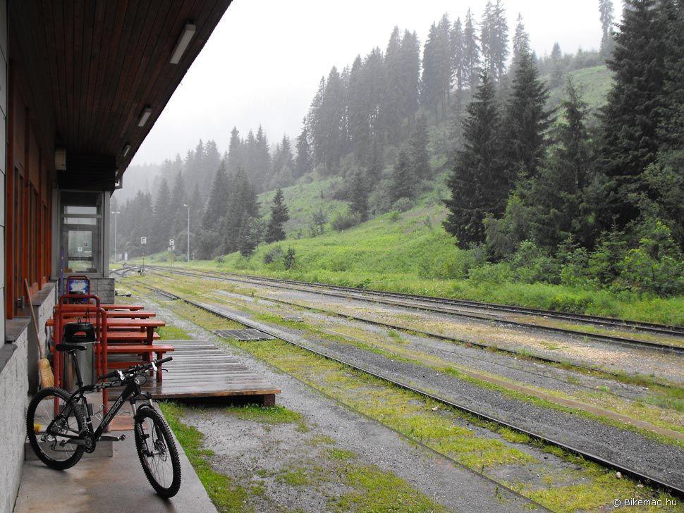 A Bahnhof Hotel peronja