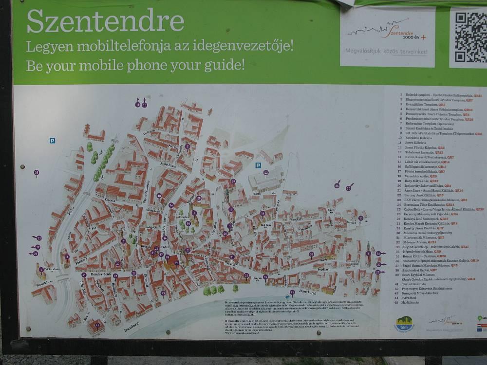 Nem térkép e táj – Szentendre történelmi városmagja