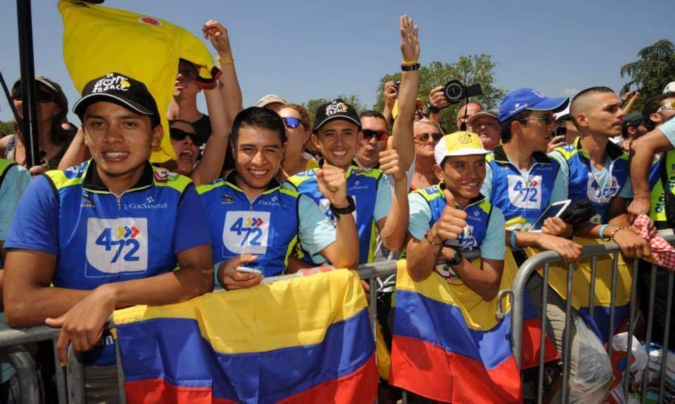 A kolumbiai szurkolók