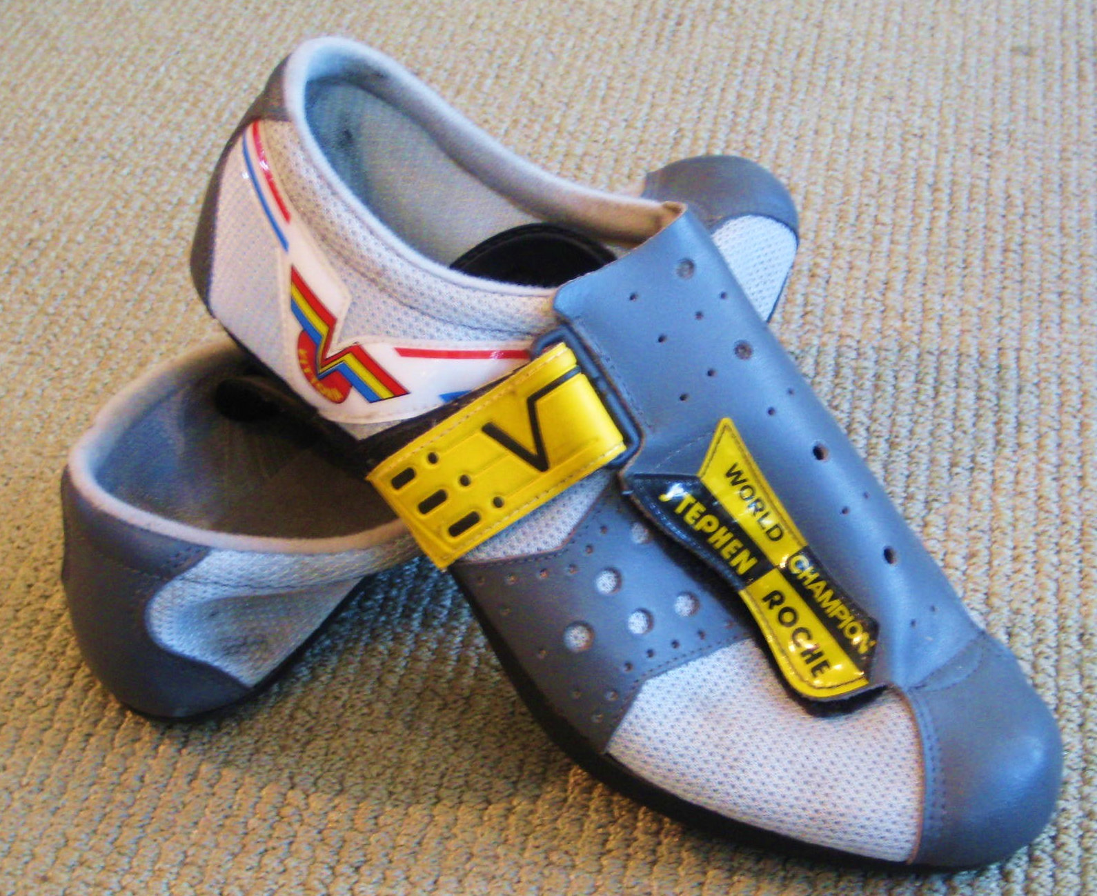 Stephen Roche egykori cipője