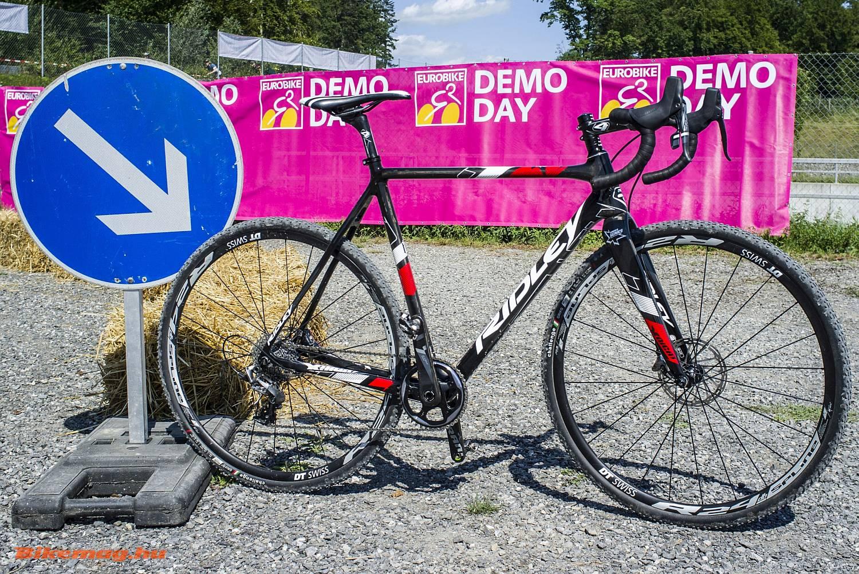 Versenyzésre alkalmas cyclocross gép a Ridley-től