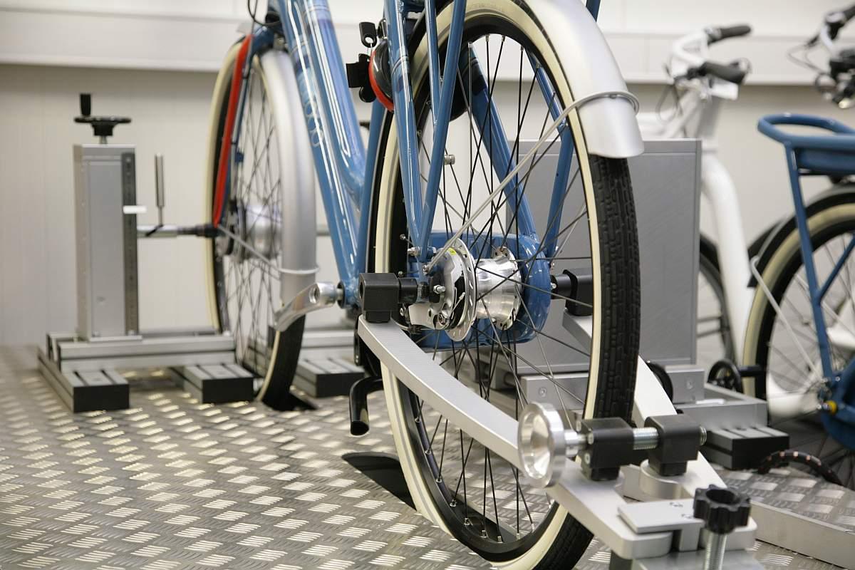 e-bike tesztpad