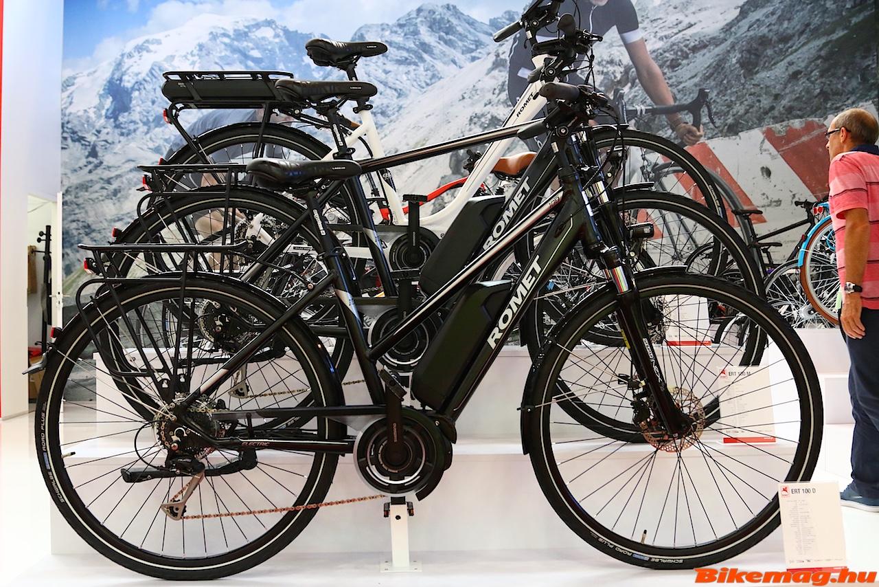 És a klasszikus férfi illetve női e-bike-ok