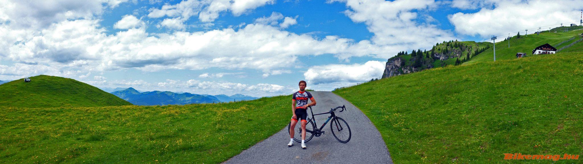 A Kitzbühel Horn ideális helyszín országúti tesztekhez