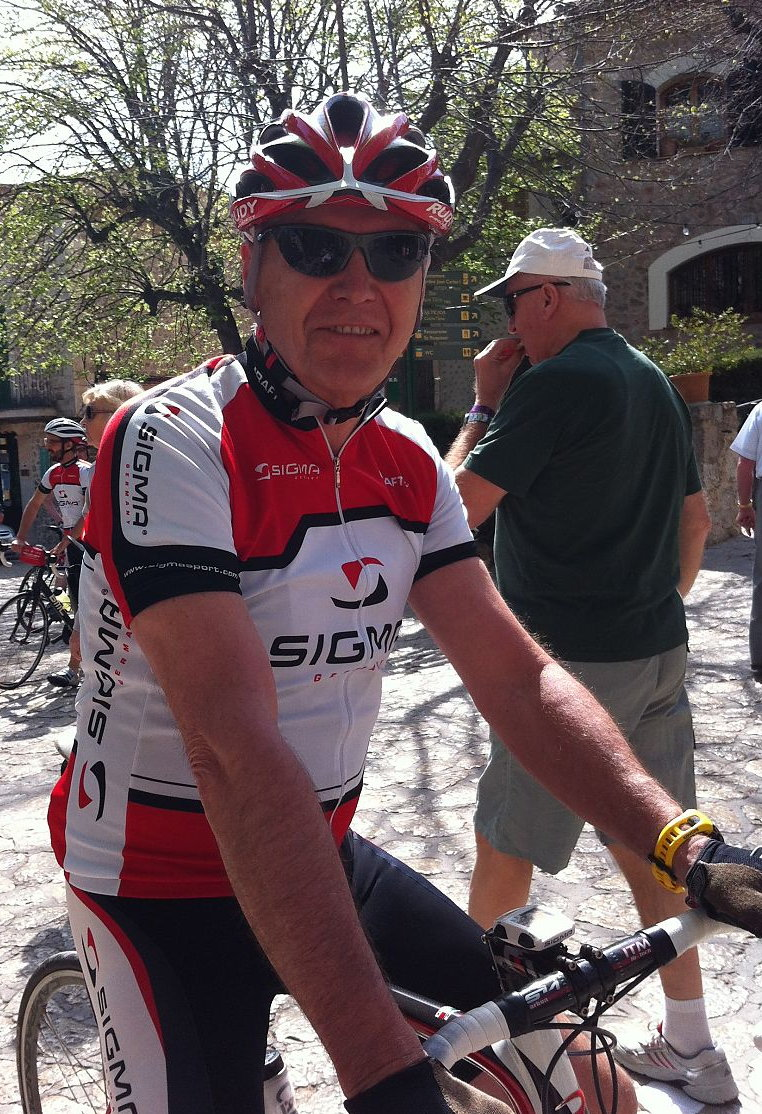 """""""A Sigma Sport alapítója, Klaus Schendel még mindig lelkes kerékpáros, pedig az 1978-as első kerékpárkomputer óta sok víz lefolyt már a Rajnán!"""""""