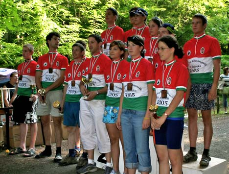 A 2005-ös év magyar bajnokai