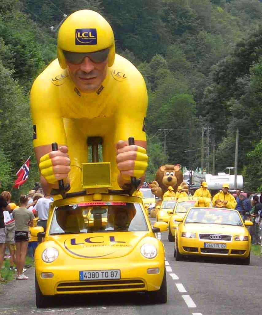 Ma már el sem tudnánk képzelni a Tour-t más színben: ez a verseny legfőbb védjegye!