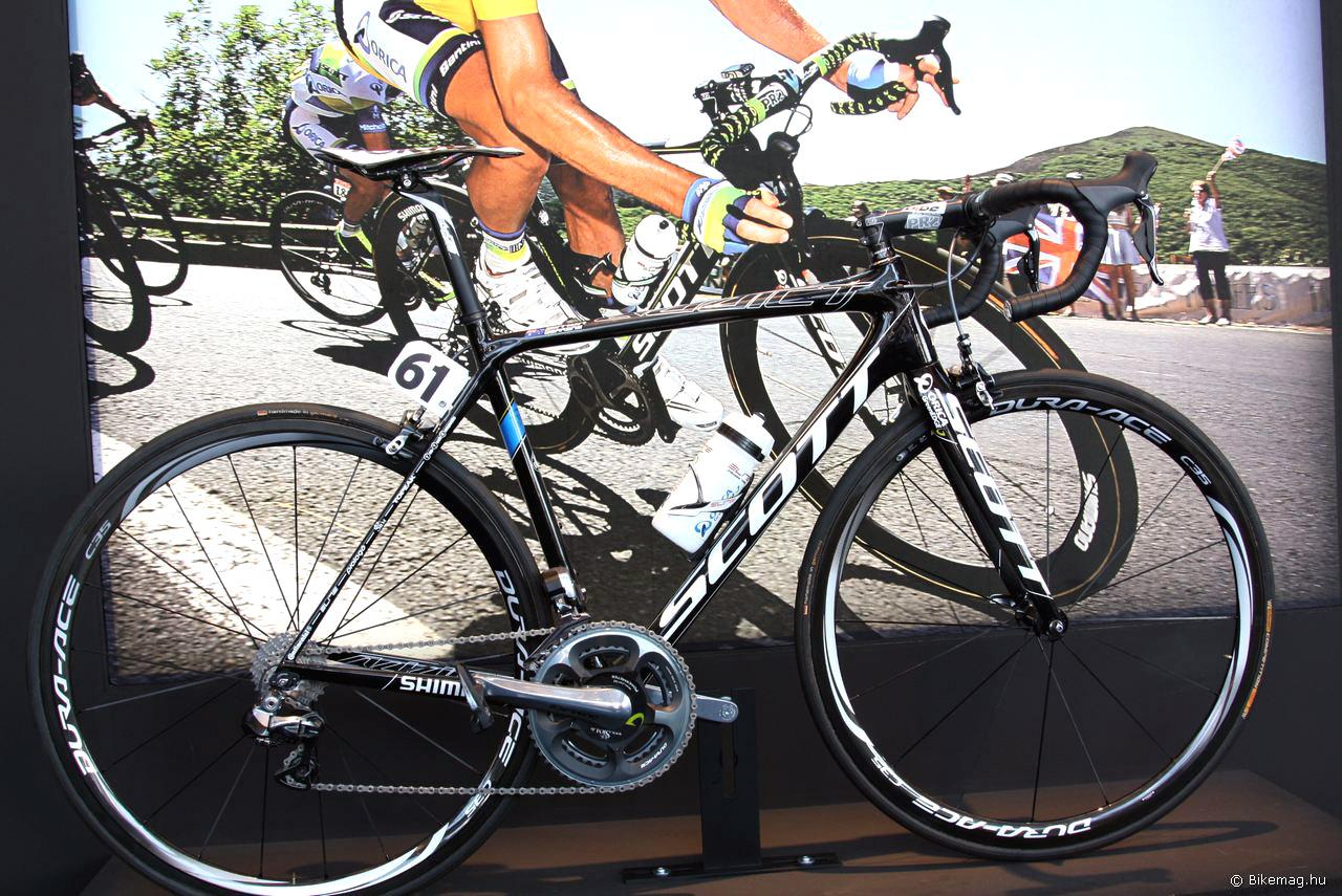 Scott Addict - Simon Gerrans kerékpárja