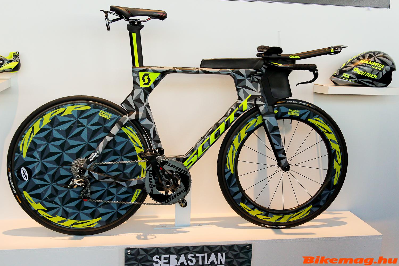 Scott Plasma 5, Sebastian Kienle triatlon gépe