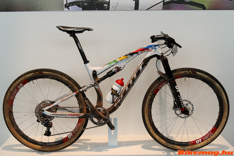 Scott Spark, Nino Schurter windhami világkupán győztes kerékpárja
