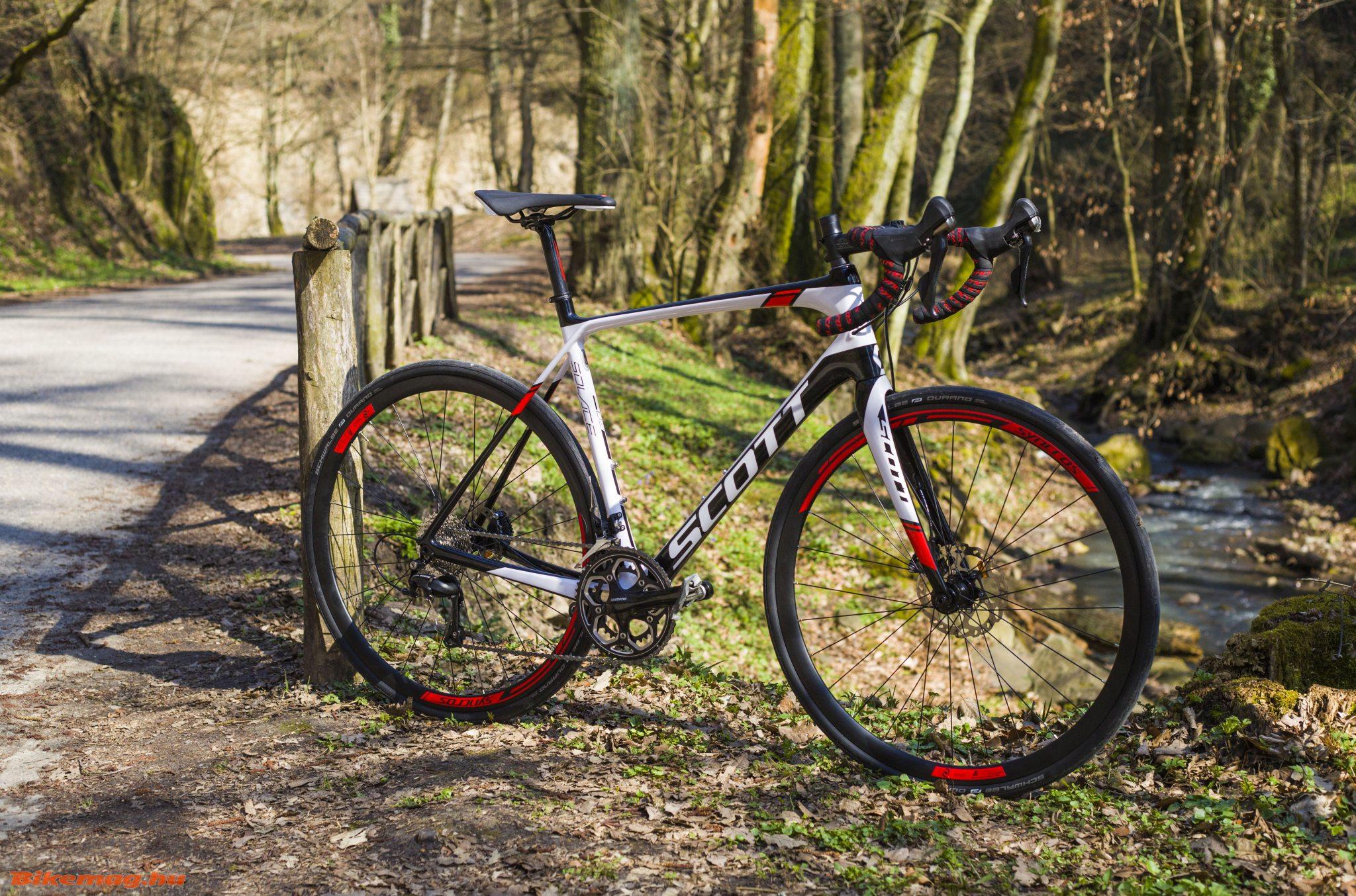 Scott Solace 20 Disc kerékpárteszt
