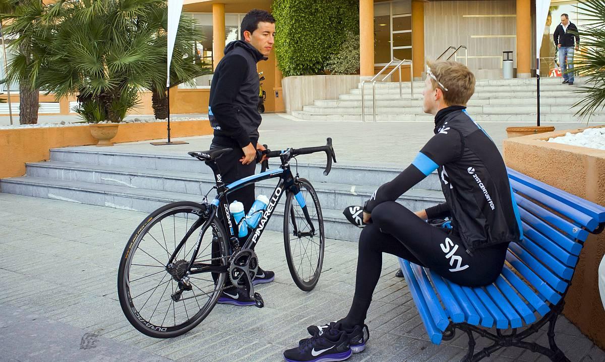 Sergio Henao egy időre parkolópályán, kérdés, hogy meddig...
