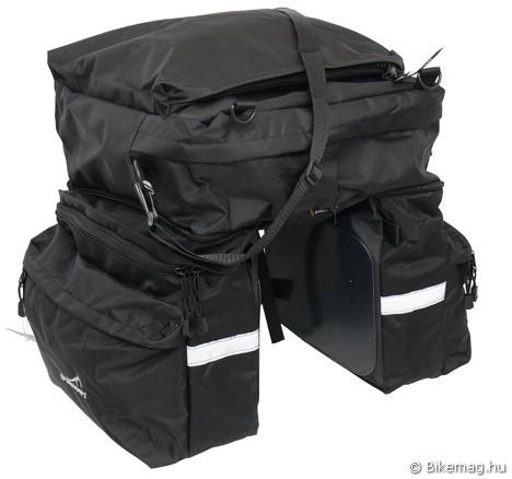 Treksport hátsó csomagtartóra szerelhető táska