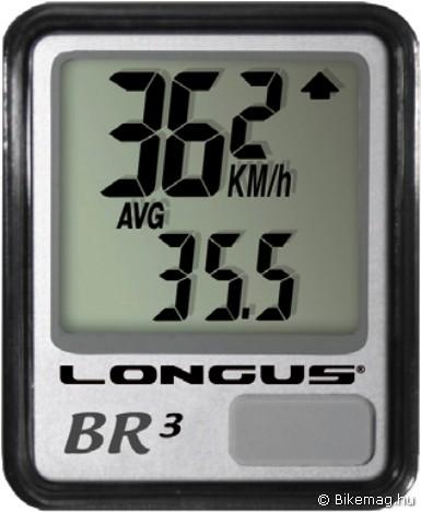Longus Bri-3 kerékpárkomputer