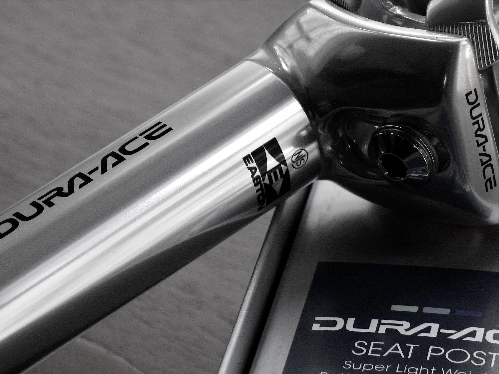 Az etalon a nyeregcsövek terén: Dura Ace 7410!