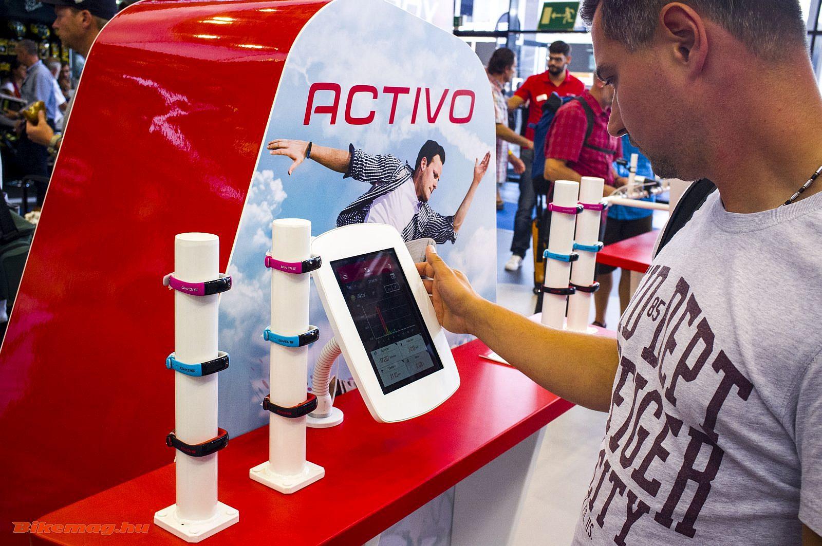 Sigma aktivitásmérő: Activo