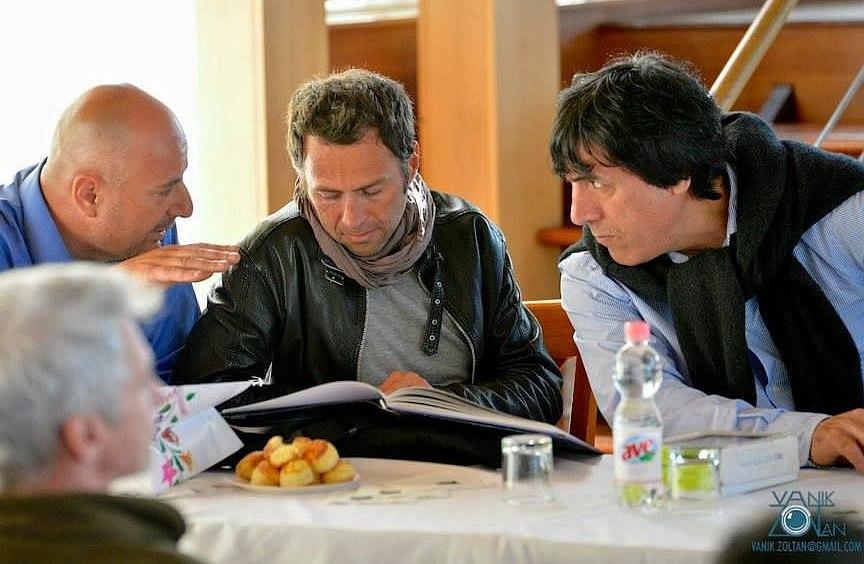 Gilberto Simoni korábban is népszerűsített kerékpárversenyt Magyarországon (Fotó: Vanik Zoltán)
