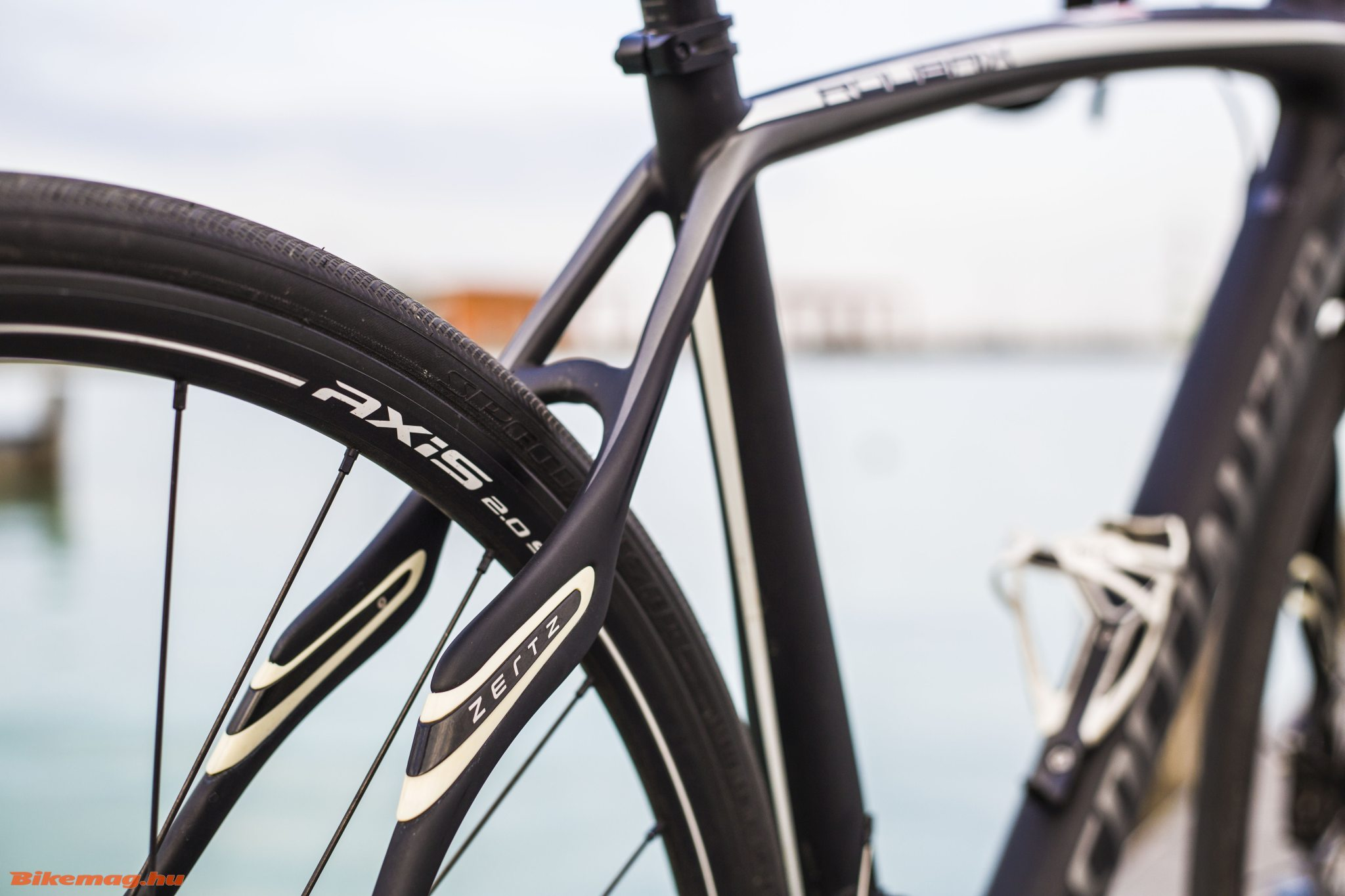 Specialized Roubaix SL4 Elite Disc - Zertz betétek a támvillákban