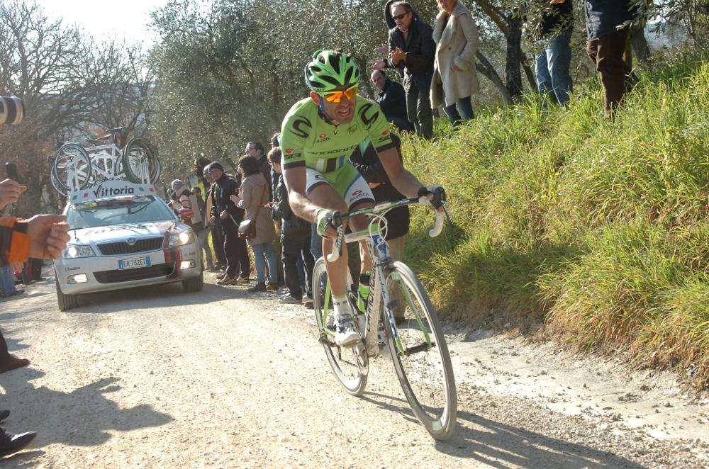 Francesco unokaöccse 2013-ben győzött a Stra Bianchi tavaszi klasszikuson: Moser 130 kilométernél támadott, és a célig szépen levadászta a korábbi szökevényeket