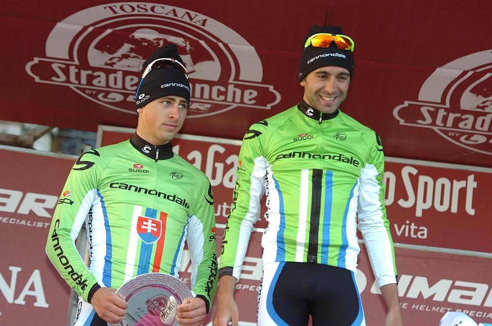 A Cannondale csapat pedig erőt demonstrált: a második helyen Peter Sagan érkezett.