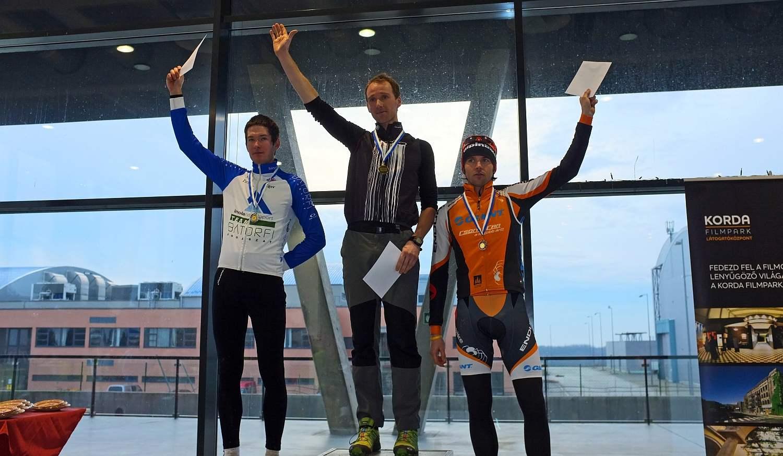 A futamot a belga Wouter Cleppe nyerte Fejes és Búr előtt