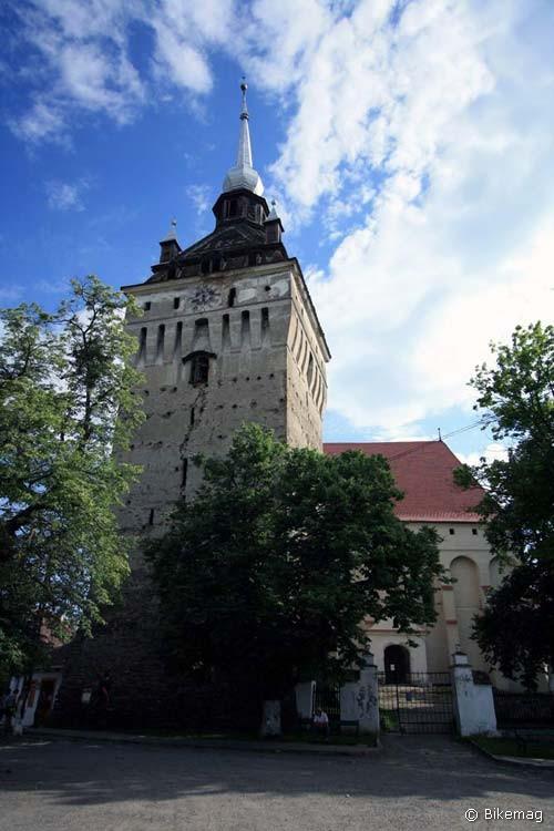 Szászkézd tornya: versengés Segesvárral a középkorból