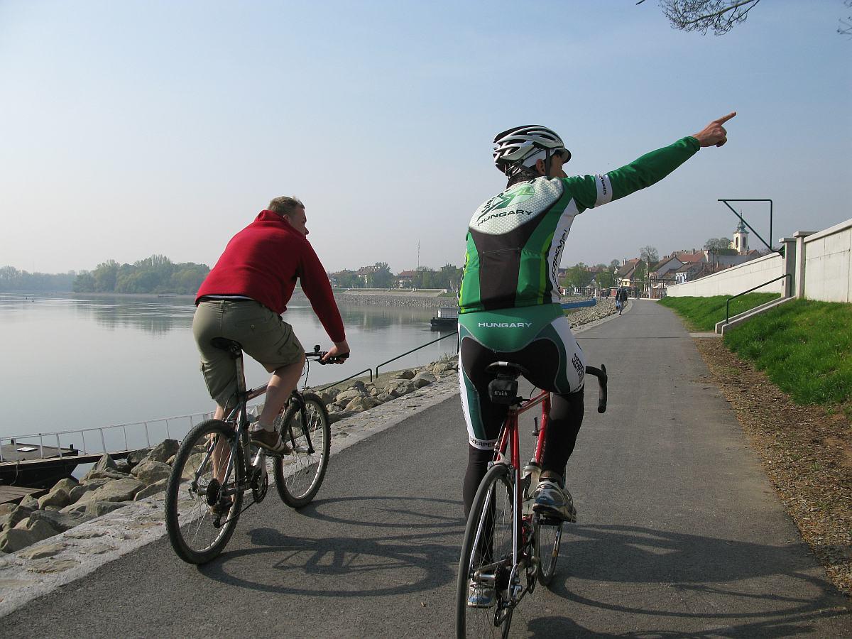 Nem kerékpárút, mégis (vagy épp ezért) ez a legjobb!
