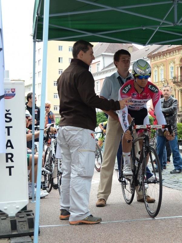 Simon Péter volt az elsőként induló versenyző a prológon