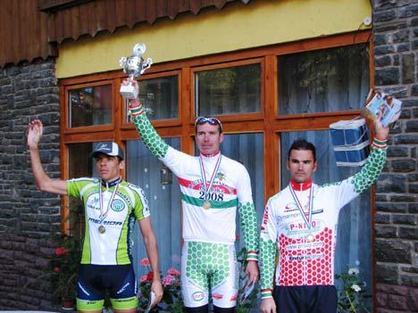 Hegyi Országos Bajnokság 2008: Árvai és Madaras között másodikként ért fel a Kékesre