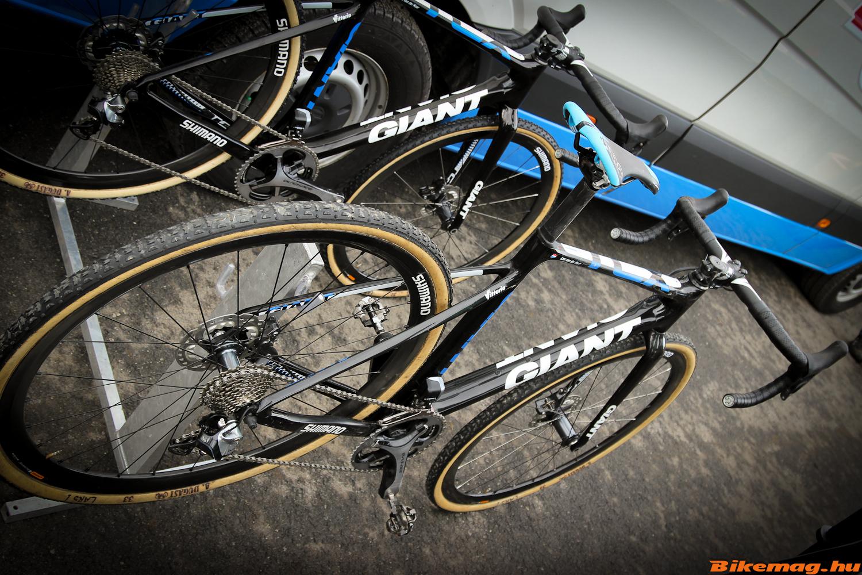 Giant TCX Advanced, Lars van der Haar kerékpárja