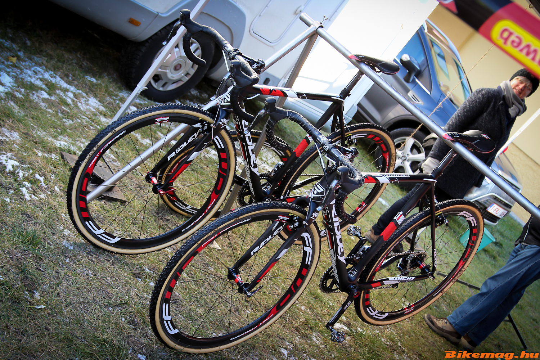 Ridley X-Night kerékpárok a Sunweb csapatnál