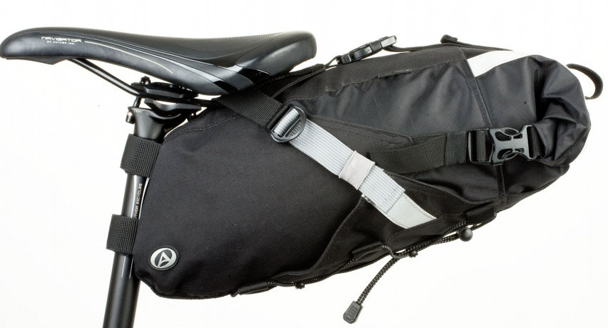 Az Author Sumo ideális megoldás, ha nem akarsz csomagtartót szerelni a kerékpárra!