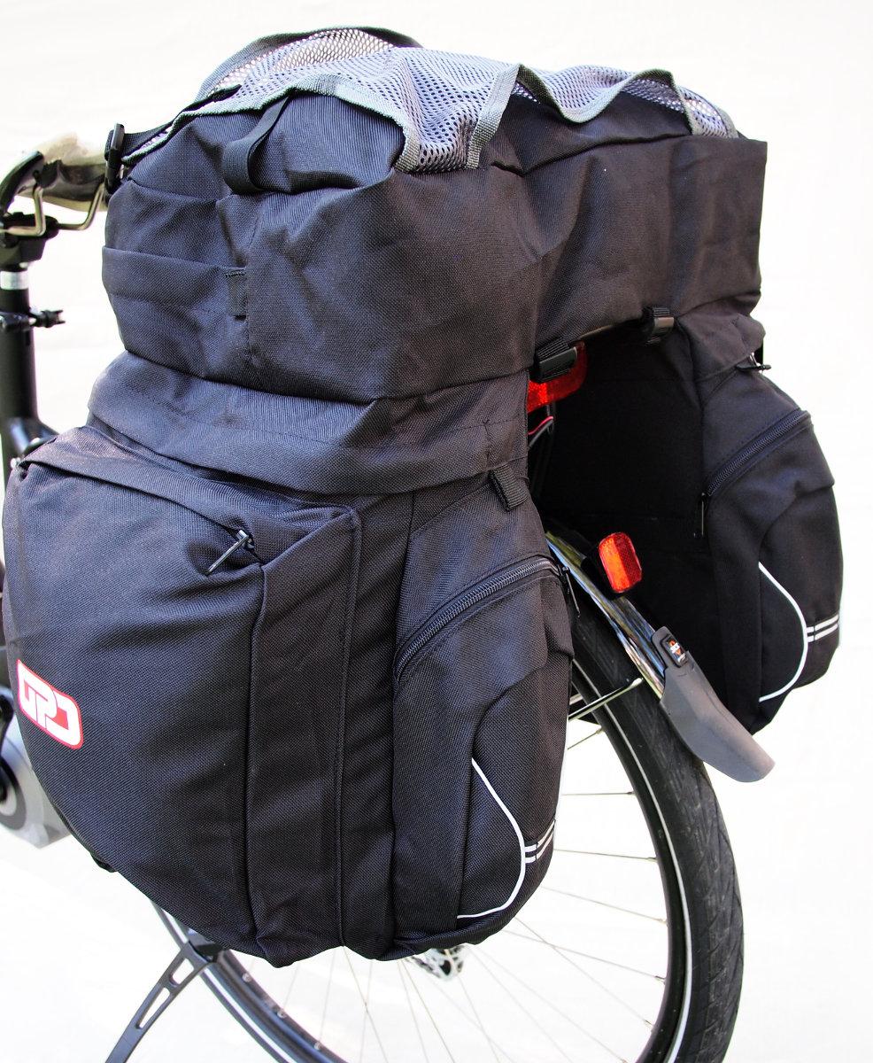 """A GPD táskával egyhetes kerékpártúra simán """"bevállalható""""..."""