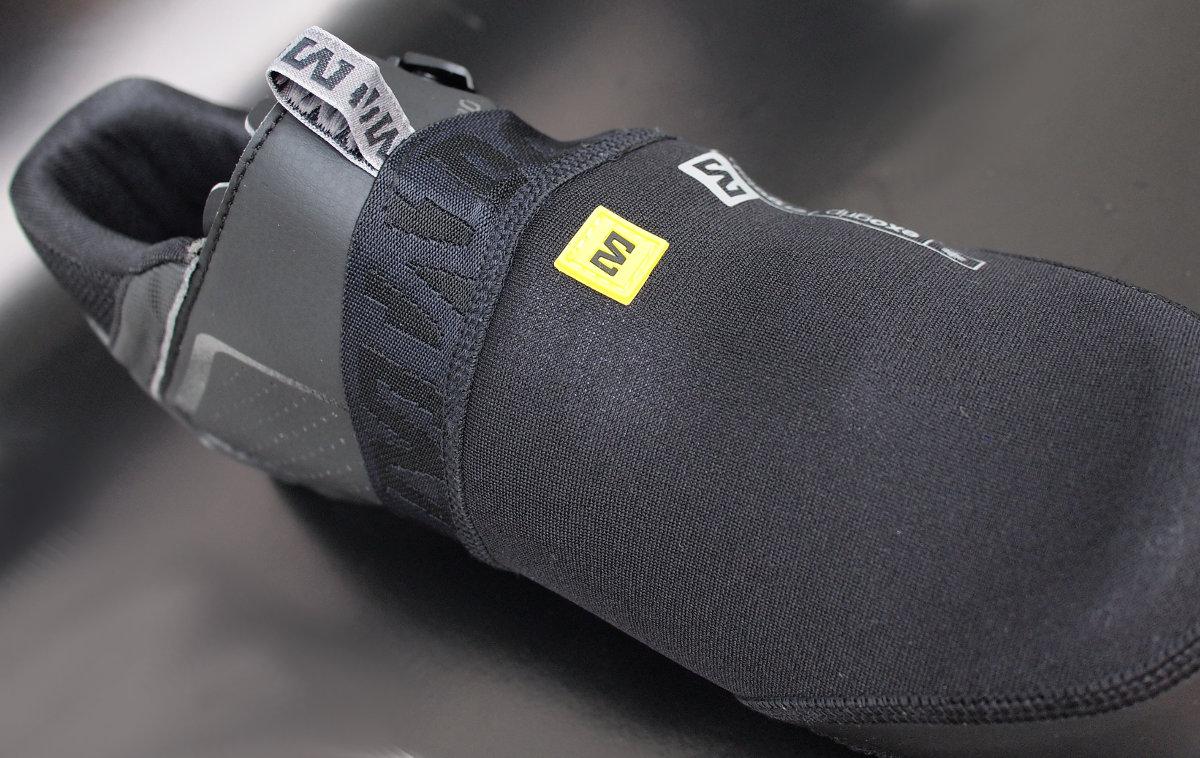 Hatékony védelem a könnyen kihűlő lábujjak számára...