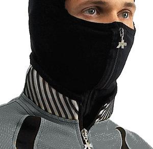 A balaklava töbféle kivitelben készül, a hangsúly az arc védelmén van...