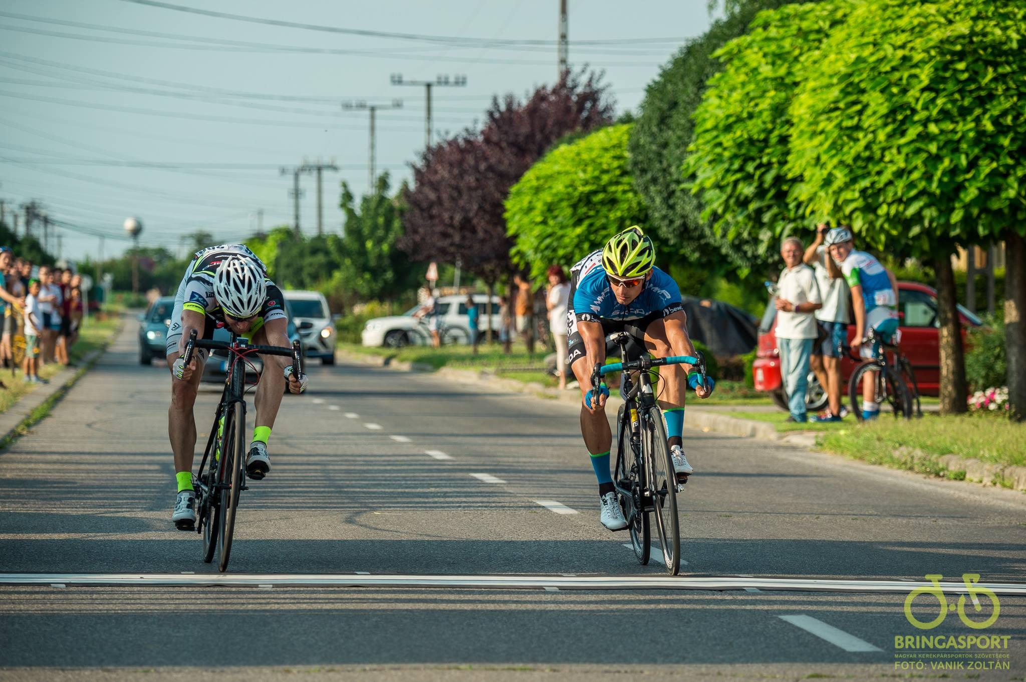 Dér Zsolt és Lovassy Krisztián - a legjobb magyar országúti sprinterek