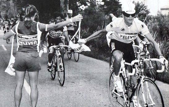 A 80-as években számos előrelépés történt a kerékpáros táplálkozás terén